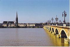 Burdeos - El Garona a su paso por Burdeos