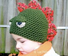 Hey, I found this really awesome Etsy listing at https://www.etsy.com/listing/112674723/crochet-hat-pattern-dinosaur-hat-pattern