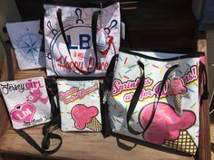 Summer Beach Totes and Cross Body Bags