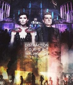 Catching Fire Quote / Hunger Games / Katniss / Peeta / Quarter Quell / Victory Tour