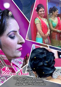 Memsaab Beauty Salon:- One of the best beauty parlour for bridal makeup & Hair treatment services in Jaipur. To Book an Appointment Please call Us at : 097850 59902. #memsaab #memsaabbeautysalon #bridalmakeup #hairtreatment #hairspa #partymakeup #makeup #makeupartist #smokyeyes #hairstyle #makeupartistjaipur #indianwedding #skincare