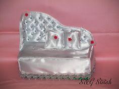 Noblesse pur!! Kosmetiktücherbox DeLuxe im Vintage Look !!