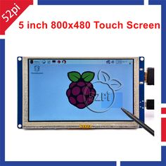 5 pouce LCD HDMI Écran Tactile TFT 800*480 pour Banana Pi Framboise Pi 3/2 Modèle B/B + plug and play pilote libre
