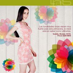 Tonalidades rosas para esta primavera. #Lineas #outfit #moda #tendencia #2014 #ropa #prendas #estilo #outfit #primavera #vestido #rosa