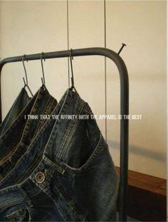 Wood Hanger アンティーク レトロ古木 アイアン ハンガーラック 什器に インテリア 雑貨 家具 Antique ¥33600yen 〆06月18日
