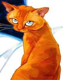 not me! Animal Paintings, Animal Drawings, Abstract Paintings, Gatos Cats, Cat Crafts, Cats And Kittens, Ragdoll Kittens, Funny Kittens, Bengal Cats