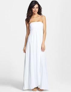 HARD TAIL Pedal Lace Bodice Supima Cotton Maxi Dress
