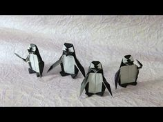▶ How to make an origami Penguin! - YouTube