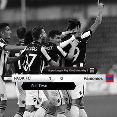 #PAOKPGSS 1-0 #SuperLeague #PlayOffs