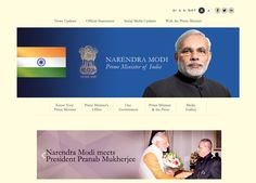 As Mr. Narendra Modi got sworn in as the 15th Prime Minister of India, the new website for the elected..