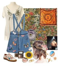 """In the middle of summer"" by radrt ❤ liked on Polyvore featuring Odd Molly, Ødd., Valentino, Dr. Martens, Good Directions, WALL, Too Faced Cosmetics and Jennifer Behr"