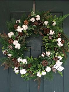 THIS ITEM IS READY TO SHIP!!!! Christmas wreath, Christmas door wreath, Wreath Christmas, Christmas cotton wreath, Cotton wreath, Country wreath This listing is for beautiful fall cotton wreath. The perfect front door or wall decor, wedding decorations. A great gift for the fall.