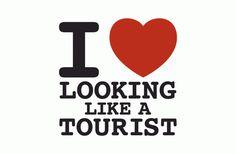 I Heart Looking Like A Tourist