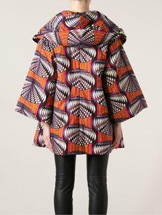 Stella Jean Structured Oversize Coat - - Farfetch.com.br