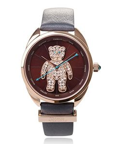 Vivienne Westwood Women's Crazy Bear Analog Display Swiss Quartz Black Watch -- To view further for this item, visit the image link. Olivia Burton, Vivienne Westwood, Stainless Steel Case, Smart Watch, Image Link, Quartz, Bear, Display, Watches