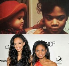 Kimberly Elise and her Daughter