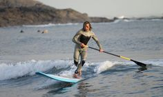 Stand-up surfing was invented in the islands of the South Pacific but it's become this year's craze in Cornwall, as Rebecca Seal discovered Stand Up Surf, Sup Stand Up Paddle, Tulum Beach, Laguna Beach, Beach Road, Beach Bum, South Pacific, Pacific Ocean, Sup Yoga