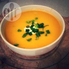 Recipe photo: Classic butternut squash soup