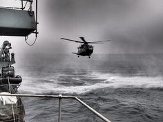 (Helicopter In-flight Refuelling) with a Merlin Helicopter.