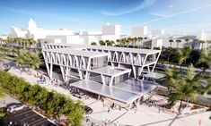 """Gallery of SOM Reveals Design for """"All Aboard Florida"""" Train Station - 11"""