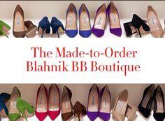 Made to Order Blahnik Boutique at Neiman Marcus #manoloblahnik #neimanmarcus