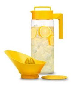 Takeya Flash Chill #Lemonade Maker, Lemon, 66-Ounce by Takeya ~  4.3 out of 5 stars  See all reviews (14 customer reviews) ~  List Price:$40.00 ~ Price:$29.99 & FREE Shipping.  ~  You Save:$10.01 (25%)  http://www.amazon.com/gp/product/B004MPQY1I/ref=as_li_ss_il?ie=UTF8=1789=390957=B004MPQY1I=as2=balitour07-20