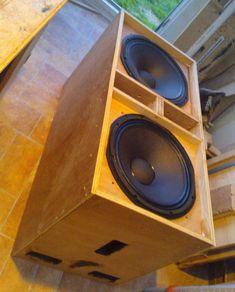 """Plans to build LA206 Dual 6.5"""" Line Array Speaker"""