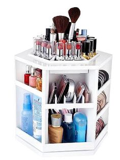 Keep your #cosmetics in check with these nifty home and on the go organizers. #beauty