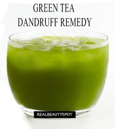 Green tea Dandruff Remedy