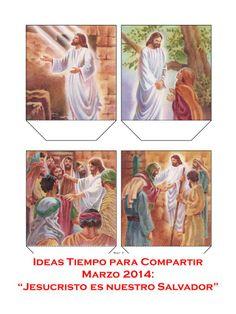 """IDEAS TIEMPO PARA COMPARTIR - MARZO 2014 """"JESUCRISTO ES NUESTRO SALVADOR"""""""
