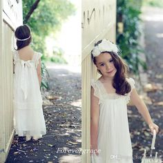 The flower girls dresses for wedding which match the flowers-2017 beautiful kids cute girl's dress for boho wedding cap sleeves pageant dresses first communion dress lace flower little girls dress is offered in forevergrace and on DHgate.com formal flower girl dresses along with princess flower girl dress are on sale, too.