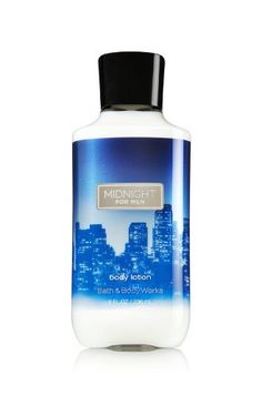 Bath  Body Works Signature Collection Body Lotion Midnight For Men 8 Ounce *** Click on the image for additional details.Note:It is affiliate link to Amazon.