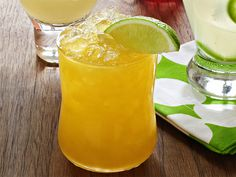 Passion Fruit Margarita : The addition of passion fruit nectar to a classic margarita makes for a refreshing drink with a tropical flair. via Food Network