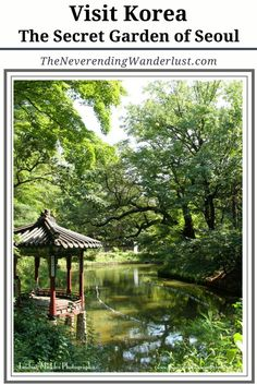 Visiting the palaces in Seoul are absolutely amazing - Make sure you visit the Secret Garden at Changdeokgung.