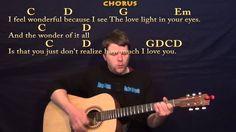 Wonderful Tonight (Eric Clapton) Strum Guitar Cover Lesson in G with Lyrics