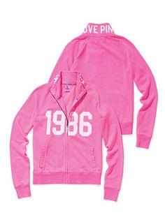 35efb21da95 Victoria s Secret PINK Track Jacket  VictoriasSecret http   www. victoriassecret.com