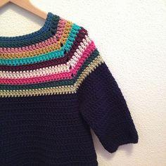 Ravelry: jersey para hacer en un fin de semana pattern by Lucía Ruiz de Aguirre