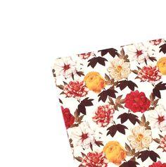 Schreibunterlage,Blumen,desk+pad,Romantik,handmade+von+ars-unica+auf+DaWanda.com