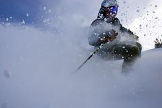 William Kerig on a powder day at Snowbird. Ski And Snowboard, Salt Lake City, Skiing, Photo Galleries, Darth Vader, Gallery, Utah, Powder, Fictional Characters