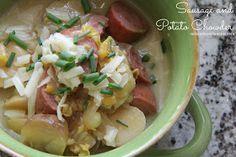 Mix and Match Mama: Dinner Tonight: Sausage and Potato Chowder