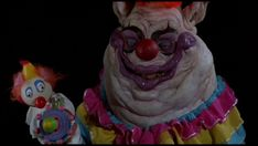 "The cast from ""Killer Klowns from Outer Space""."