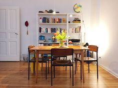 Esstisch wohnzimmer ~ Eiche esstisch baumkanten cm gestell edelstahl platte