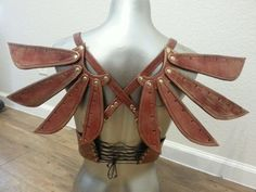Steampunk Leather Costume Fairy Wings | Fashion I love (and would wea ...