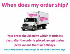 Delivery to your door in 9 business days!