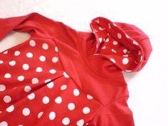 """Hoodie """" Pointille """" Baby Kinder Mitwachs- Pulli von EMS ART Factory auf DaWanda.com"""