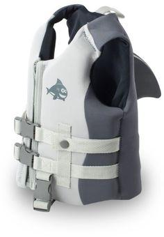Toddler shark swim life vest