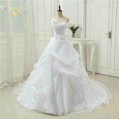 Vestido De Noiva A line One Shoulder Bridal Applique Lace Organza Robe De  Mariage Vintage Wedding Dresses 2019 OW4042 Plus Size 97331b64190a