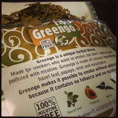#Greengo  #herbal  #smoking alternative. Greengo-products.com