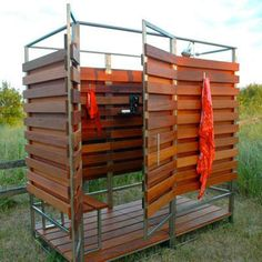Portable Shower - Outdoor Shower Ideas - 16 DIYs to Beat the Heat - Bob Vila