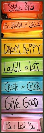 Smile, dream, laugh, give!  ♥ #Free2Luv #truth #Quote